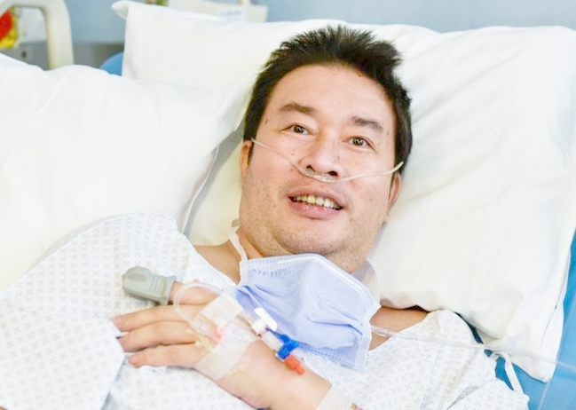filipino man recovered after 72 days from corona